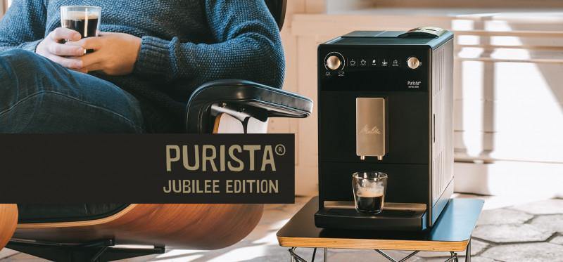 Máy pha cafe tự động Melitta Purista® Series 300 phiên bản kỷ niệm 111 năm || Cubes Asia