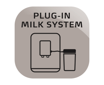 Plug-in milk system