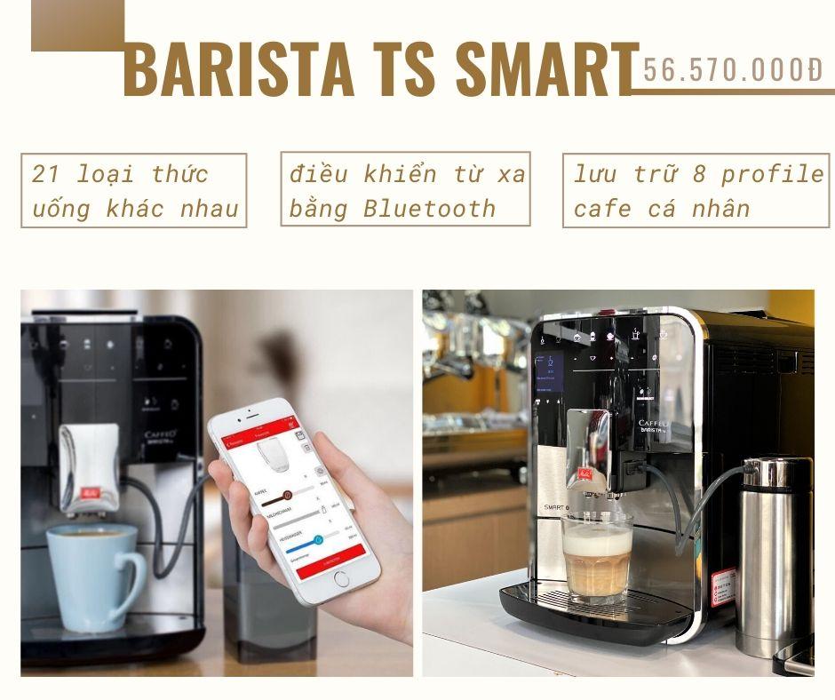 may-pha-cafe-tu-dong-cappuccino-melitta-barista ts smart