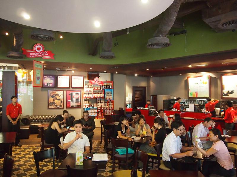 Highlands Cafe: Ho Chi Minh City